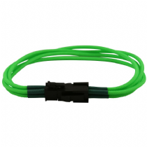 4 Pin ATX Green Braided Male to Female Power Extension Cable